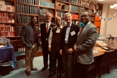At The Insurance Library Association Holiday Open House 2019, Boston on 4th December 2019.