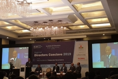 "Moderated a panel discussion on the topic ""Are Directors Responsible or Directors Liable: Can Risks be Ring Fenced"" at the Directors Conclave 2019"