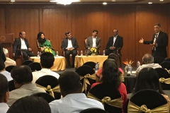"Panel discussion on"" Governance to Risk Transfer : A Commute Less Understood"" organised by Raheja QBE on 25/01/2018"