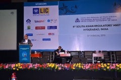 Speaking on Cyber insurance at 4th South Asian Insurance Regulators Meet and International Insurance Conference on 10/02/2018